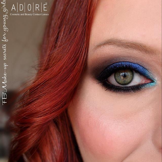 Adore Bi-Yellow color lenses