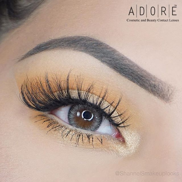 Adore Bi-grey color contact lens