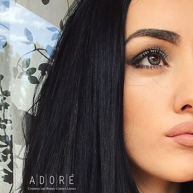 Adore Crystal Light Grey color contact lenses